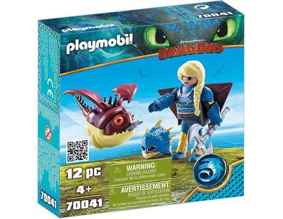 Playmobil 70041 - How To Train Your Dragon 3 Astrid & Scruffhead