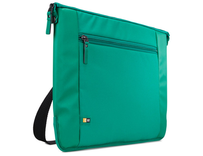 "Case Logic INT114GR - Intrata Slim Notebook Case 14"" Green"